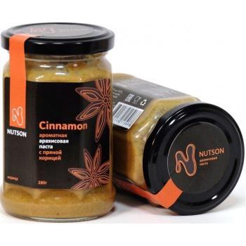 Арахисовая паста Nutson Cinnamon