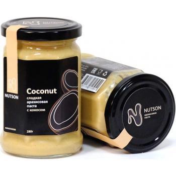 Арахисовая паста Nutson Coconut