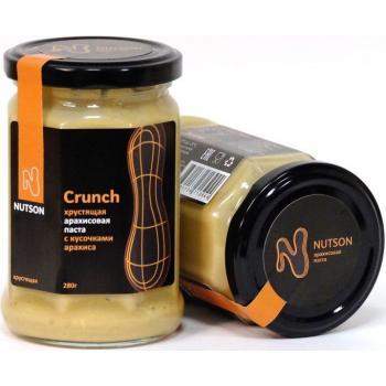 Арахисовая паста Nutson Crunch