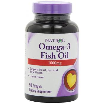 Omega-3 Fish Oil lemon