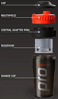 Компоненты Shaker Pro 40