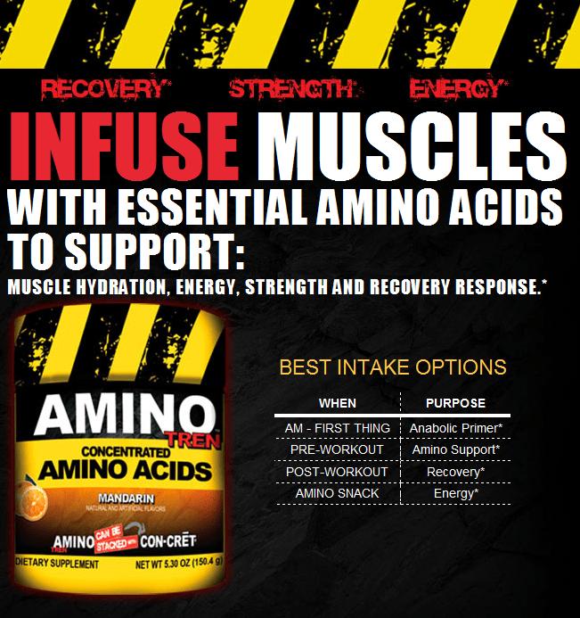 Аминокислоты Amino Tren